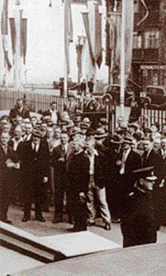 FBEU members Rally 1938